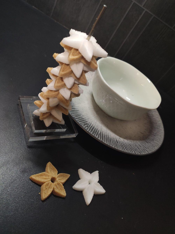 sucres en forme d'étoiles